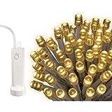 LED Lichterkette, 24 LED, 1,7m, weisses Kabel