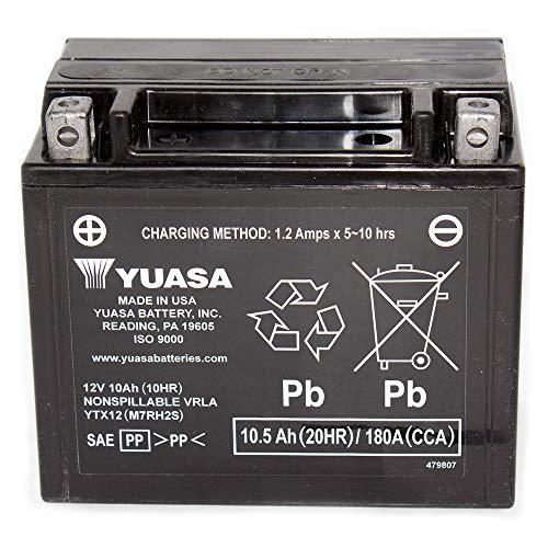 12V 10Ah batteria per Honda TRX250Recon, ES 1997-2003