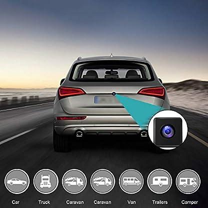 Auto-Rckfahrkamera-Uzone-Digital-Nachtsicht-Rckfahrkameras-IP67-Wasserdicht-Seismic-Dust-Prevention-kfz-Rckfahrkamera-Weitwinkelansicht-fr-Auto-Wohnmobil-Wohnwagen-Anhngerkupplung-Abschleppwagen