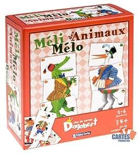 Jeu de 42 cartes : Dagobert Méli Mélo des Animaux