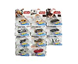 Hot Wheels Star Wars Episode 8 Character Cars in 1:64 11 ´ er Set FDJ70-965B