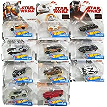 Spielzeugautos Hot Wheels Star Wars Rogue One Character Cars  in 1:64   11 ´ er Set  DXN83-999D