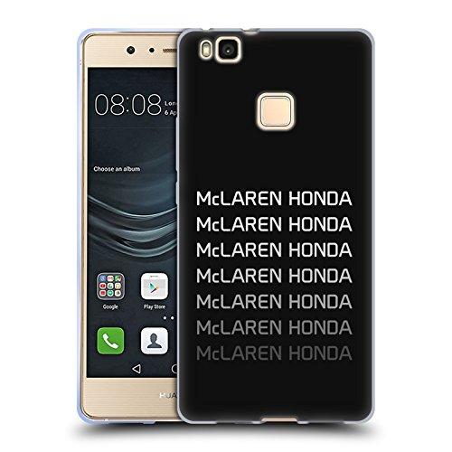 Officiel McLaren Honda Essentials Logo Repeat Art Clé Étui Coque en Gel molle pour Huawei P9 Lite / G9 Lite
