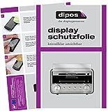 dipos I 3X Schutzfolie klar passend für TechniSat DigitRadio 580 Folie Displayschutzfolie
