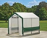 ShelterLogic Folien Gewächshaus Folienzelt 240 x 180 x 200cm - 4