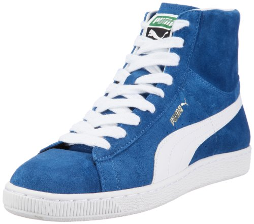 Puma Suede Mid Classics 351911 Herren Sportive Sneakers Blau (bright cobalt-white 01)