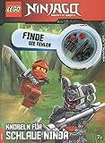 LEGO NINJAGO Finde den Fehler, Knobeln für schlaue Ninja