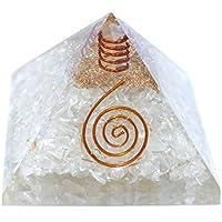 Humunize Kristallstein mit Bleistift Orgon Pyramide Chakra-Energie-Generator Reiki Stein Fen Shui Geschenk preisvergleich bei billige-tabletten.eu