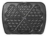 LAGRANGE 010 522 Aluminio Placa para gofres accesorio para gofrera de hierro - Accesorios para gofreras de hierro (Placa para gofres, LAGRANGE, Premium Gaufres, Aluminio, Negro, 253 mm)