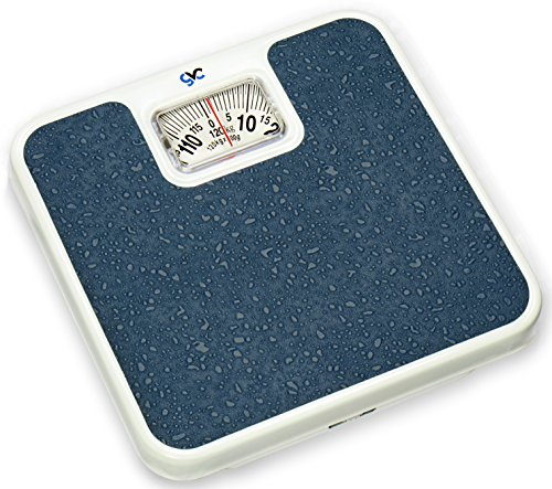 4) Gvc Iron Analogue Personal Health Check Up Fitness Weighing Scale (Blue)