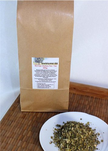 Moringa-bäume (Moringa Oleifera Tee, 250g, geschnittene Blätter des Moringa Baumes)