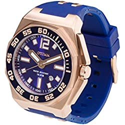 OTUMM Sports Calender 08723 45 mm Men's Watch XL (Analogue) - Blue