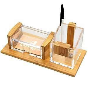 Organizzatore da scrivania a 2 scomparti portapenne - Portapenne da scrivania ...