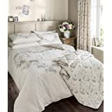 Catherine Lansfield JeTaime - Ropa de cama (135 x 200 cm y 50 x 75 cm, 1 piezas, 10 unidades)