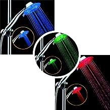 Soffione Doccia, Mano Doccetta 7 colori LED per Bagno Docce ABS LED Shower Head