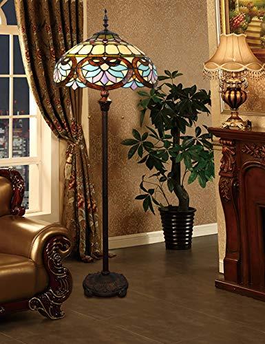 16-Zoll-europäischen Retro-Stehlampe Schlafzimmer Nacht Hochzeit Geschenk Dekoration Schlafzimmer Studie Stehlampe minimalistische Mode