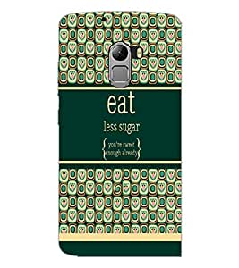 PrintDhaba Quote D-2780 Back Case Cover for LENOVO K4 NOTE A7010a48 (Multi-Coloured)