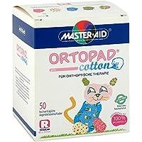 ORTOPAD cotton girls regular Augenokklusionspflas. 50 St Pflaster preisvergleich bei billige-tabletten.eu