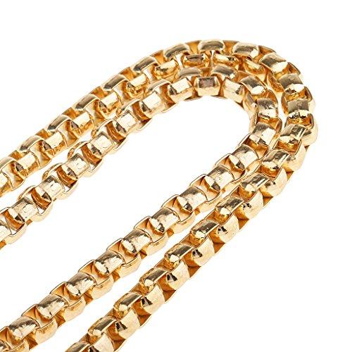 MagiDeal Sostituzione Catena Chain Del Sacchetto Di Spalla Cinghia di Borsa a Mano Metallo - Bronzo Oro