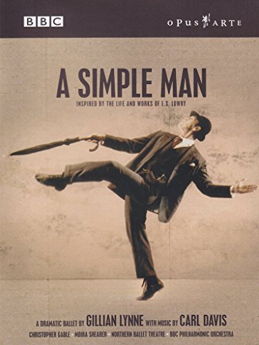 Preisvergleich Produktbild A Simple Man - Inspired by the Life and Works of L.S. Lowry (NTSC)