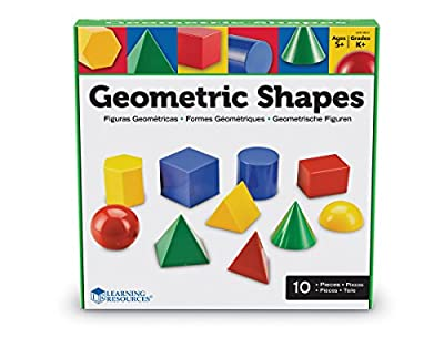 Learning Resources Large Geosolids Plastic Shapes from Learning Resources