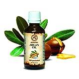 Olio di Argan Puro, 100% naturale e puro 100 ml, bottiglia di vetro, olio di base, ricco di retinolo, olio per il corpo, cura intensiva per viso, corpo, capelli, pelle, mani, anti-invecchiamento, uso puro, ottimo con olio essenziale / per bellezza / aromaterapia / relax / massaggi / benessere / cosmetici / cura del corpo / relax / Idratante / Cura della pelle / non diluito / olio per capelli / ingredienti di qualità / inodore / medicina alternativa di AROMATIKA
