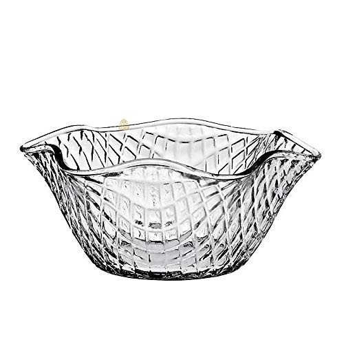 CRISTALICA Pot de Glace, Tasse de Glace, Bol à Glace WAFFEL Transparent, 200 ML (Gelato Vero Powered by