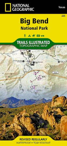 Price comparison product image Big Bend NP 225 GPS ng r / v wp / Texas (National Geographic Maps: Trails Illustrated)