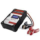 M+S batterieloses Starthilfegerät 400A, Batterie Booster mit Ultra-Kondensatoren für über 10.000 Startvorgänge, mobile Motorrad und Auto-Starthilfe für Diesel und Benzin Motoren 100% zuverlässig