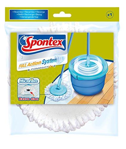 Spontex - 1 Recharge microfibre Balai Full Action System +