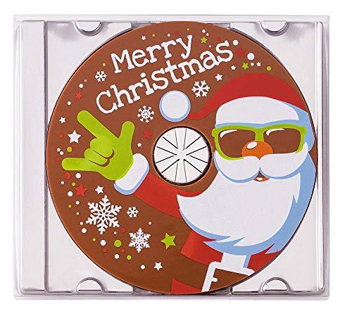 Preisvergleich Produktbild Coole Schokoladen Geschenkpackung CD Weihnachtsmann,  45g