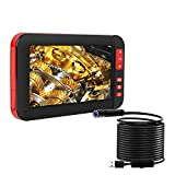 ILIHOME Endoscope Inspection Camera Industial Borscope 4.3Inch Color Screen 1080P HD IP67 Waterproof