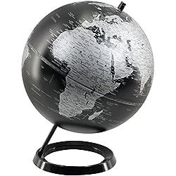 Signes Grimalt 21507 - Globo mundo, 25 cm, color negro