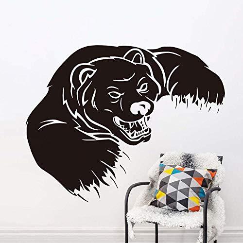 Grizzly Bear Tier - Grizzly Animals Bear Wandaufkleber Für Jungen