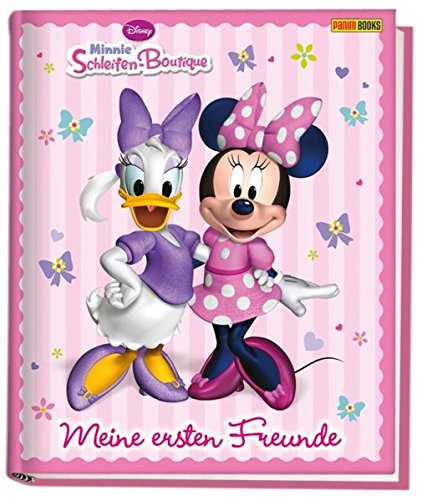 Disney Minnie Schleifen-Boutique Kindergartenfreundebuch: Meine ersten Freunde