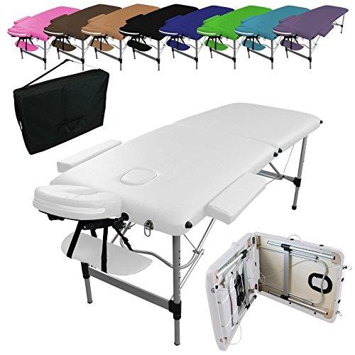 Vivezen  Table de massage pliante 2 zones en...