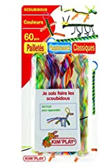 Idea Regalo - Kim'play - 60201 - Kit Mondo Creativo - Scoubidou Fili 60 Notice