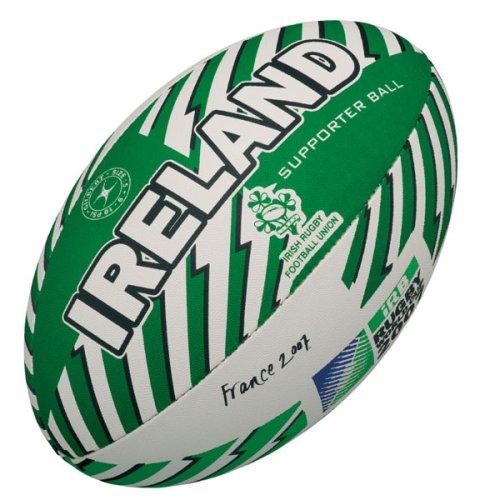 Gilbert - Balón de rugby (talla 5), diseño de mundial de 2007 en Irlanda