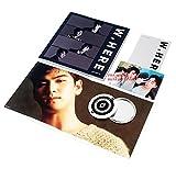 NU'EST W Album - W, HERE [ Portrait Ver. ] CD + Photobook + Mini Photobook + Photocard + Poster(On Pack) + FREE GIFT/K-pop Sealed