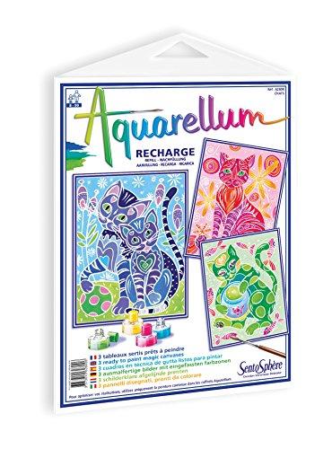 Sentosphère 3900628 Recambio para Set de Pintura Aquarellum Junior Dragones