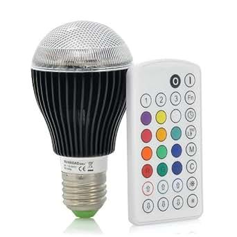 gl hbirne led farbtherapie farbwechsel mixed kologische energiesparen 9 watt 420 lumen 2. Black Bedroom Furniture Sets. Home Design Ideas