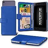 Aventus (Blue) Wileyfox Spark X Hulle Premium-PU-Leder