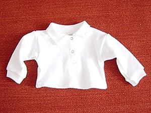 Puppenmode Sturm 0470-3 - Polo para muñecas, Color Blanco