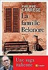 La famille Belonore: Une Saga italienne par Carrese