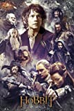 GB eye 61 x 91.5 cm The Hobbit Desolation of Smaug Collage Maxi Poster, Assorted
