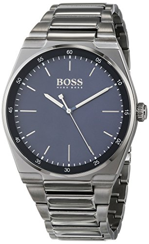 Hugo BOSS Unisex-Adult Analogue Classic Quartz Watch with Stainless Steel Strap 1513567
