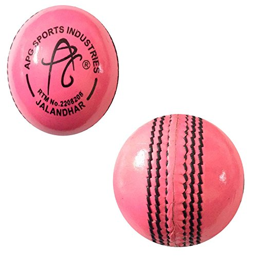 APG-PINK-Leather-Cricket-Ball-Pack-Of-1
