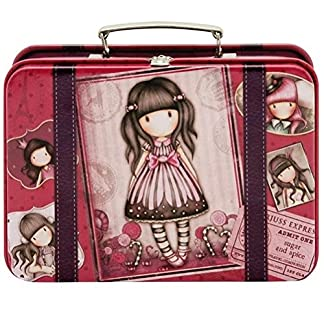 Gorjuss Sugar and Spice Suitcase Tin