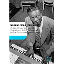 Carnet de Musique Notebooks & Journals, Cole (Jazz Notes Collection) Extra Large: Couverture souple (17.78 x 25.4 cm)(Carnet à musique, Cahier de musique)