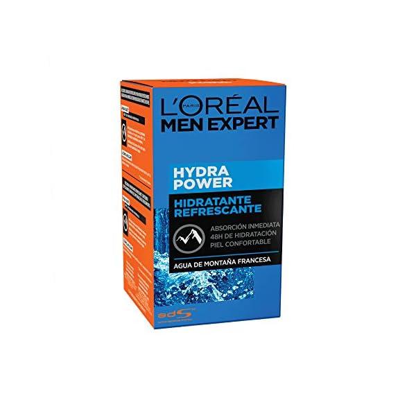 L'Oréal Paris Men Expert Hydra Power, Gel Hidratante Refrescante – 50 ml